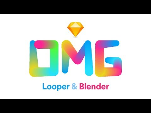 Create Patterns with the Looper and Blender Plugins—Sketch App