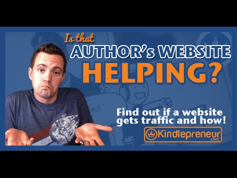 How does THAT author's website get traffic?