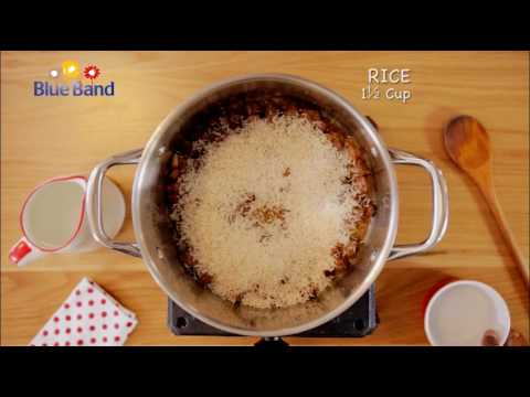 How to make Oil Rice with Blue Band Margarine