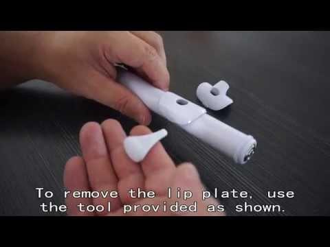 Change Lip Plate - Nuvo Flute