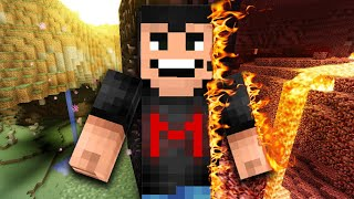 VISITING THE NETHER... | Minecraft - Part 7