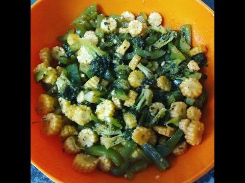Healthy Babycorn-Broccoli Stir Fry Recipe