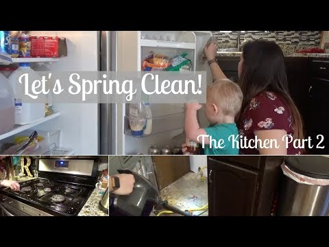 SPRING CLEANING 2018   Kitchen - Part 2 Deep Cleaning