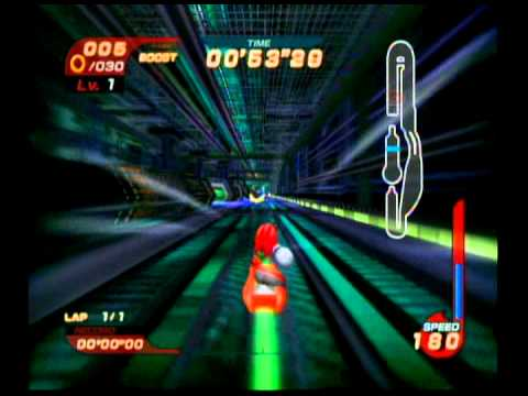 Sonic Riders - Missions - Night Chase