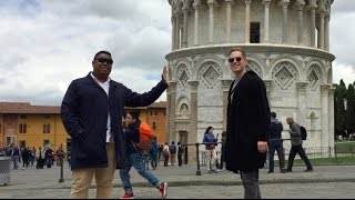 High Five!  -  At the Leaning Tower of Pisa
