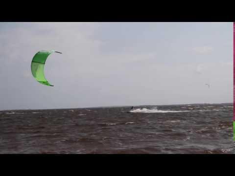 Eggcellent Nags Head kiteboarding session