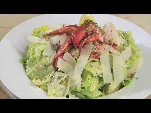 Lobster Caesar Salad : Lobster Salads