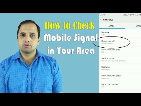 How to Check Mobile Signal in your Area and Why No LTE Only in Setting..