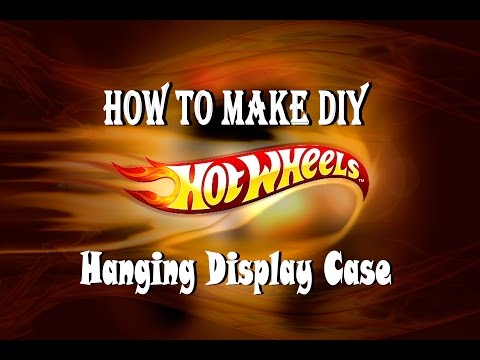 How to make a DIY Hot Wheels 1/64 car Display Case