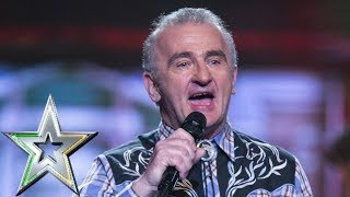 Yodeller Johnny Quinn brings a touch of country to the IGT stage | Ireland's Got Talent 2019