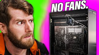 This INSANE Gaming PC Has NO MOVING PARTS - MonsterLabo The Beast