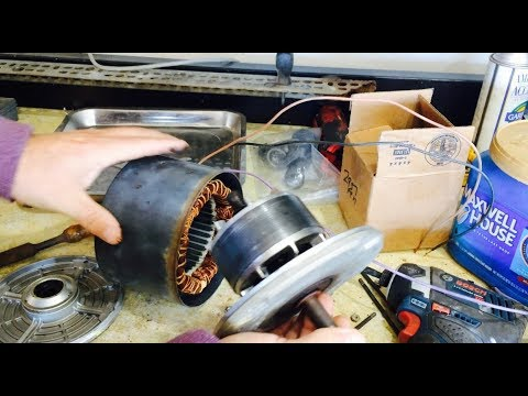 Condenser Fan Motor Possible Bearing Replacement