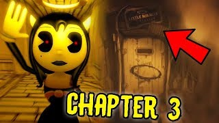 ALICE ANGEL IS FINALLY HERE! | Bendy And The Ink Machine Chapter 3 (Reaction)