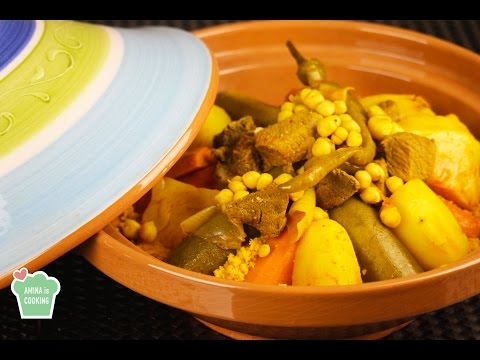 Tunisian Couscous (Beef and Vegetables) - Episode 148 - Amina is Cooking