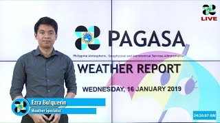 Download Public Weather Forecast Issued at 4:00 AM January 16, 2019 Video