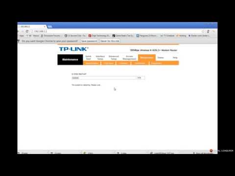 BSNL Broadband Settings on TP Link TD W8961ND 300Mbps ADSL2 Router