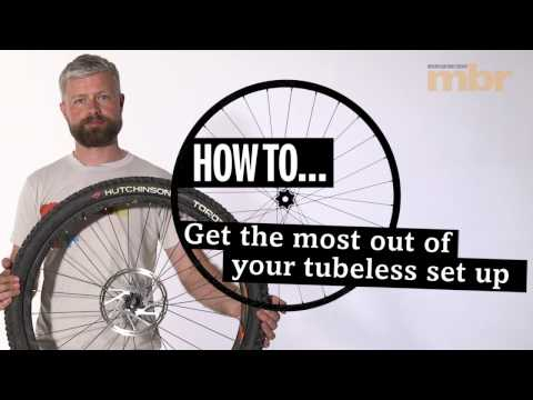 How to set-up and maintain your tubeless MTB tyres | MBR