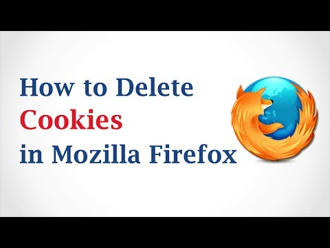 How to Delete Cookies in Mozilla Firefox