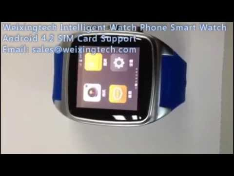 Android 4.2 Android Watch Phone Smart Watch Phone Smart Phone Watch Mobile Phone - Weixingtech