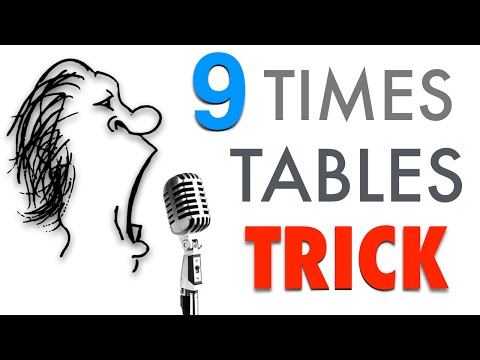 9 Times Tables in 60 seconds