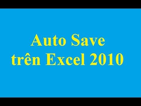 Cách cài đặt thời gian tự động lưu trong Excel 2010 - http://taimienphi.vn