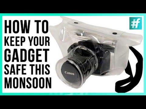 How to Keep Your Gadgets Safe this Monsoon! - #RannaAdhikari