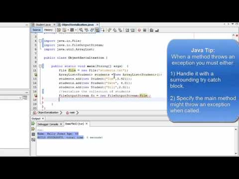 Learn Programming in Java - Lesson 17: File Input/Output