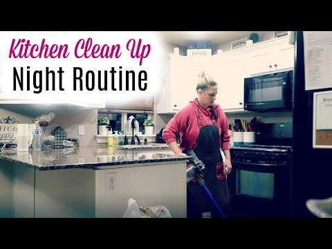 Night Routine- Clean Up & Chill - Housewife life