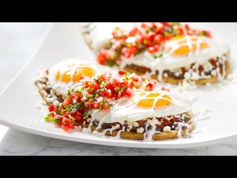 Breakfast Huaraches