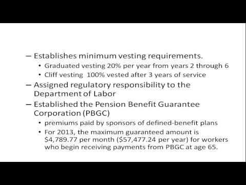Pension Regulation