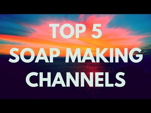 Top 5 Soap Making Channel 2017 for Beginners and Advance Handmade soap tutorials how to diy -078