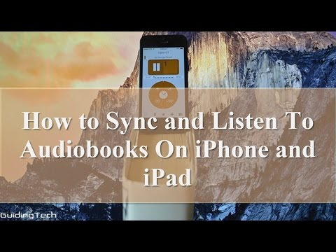 How to Sync and Listen to Audiobooks on iPhone