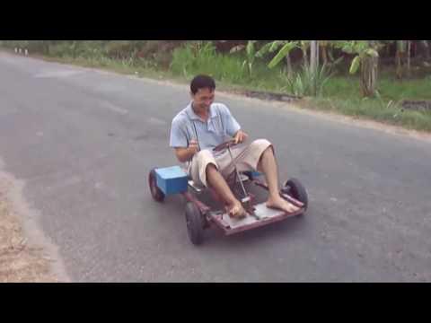 Electric Go Kart  Homemade 12V Volts