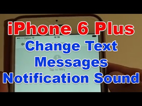 iPhone 6 Plus: How to Change Text Message Notification Ringtone Sound