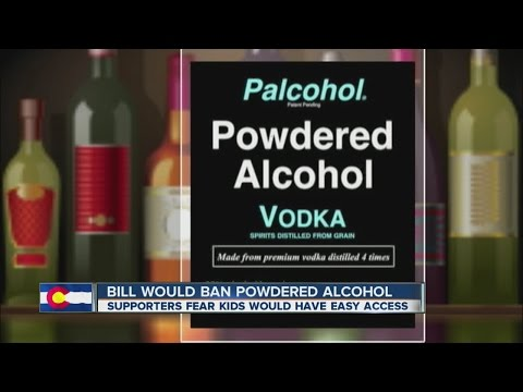 Colorado lawmakers advance measure to ban powdered alcohol