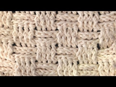 BASKET WEAVE STITCH Crochet How To