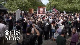 Arrests as anti-lockdown protests hit Europe