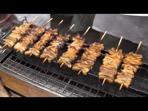 How to Make Yakitori (Skewered Chicken) on Yakitori grill Recipe | OCHIKERON | Create Eat Happy :)
