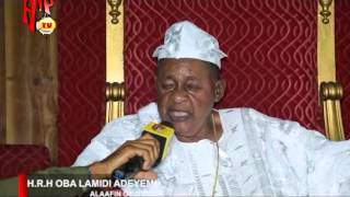 ALAAFIN OF OYO SPEAKS ON BUHARI'S LED-GOVERNMENT AND NIGERIAN MUSIC (Nigerian Entertainment News)