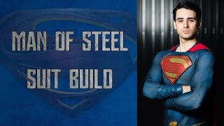 Man of Steel Costume Build - Sourcing Parts and Assembly