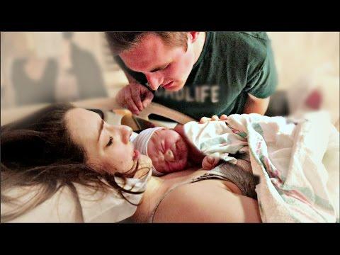 Natural VBAC Birth Vlog | EMOTIONAL BIRTH OF OUR BABY GIRL! | Nat +Wes|