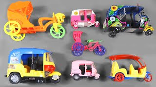 Indian Street Vehicles Collection | Auto Rickshaw, Tricycle & Lots of Indian Street Vehicles