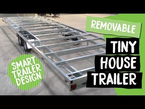 Detachable Tiny House Trailer | Build Tiny, Tiny House Builder, Katikati NZ