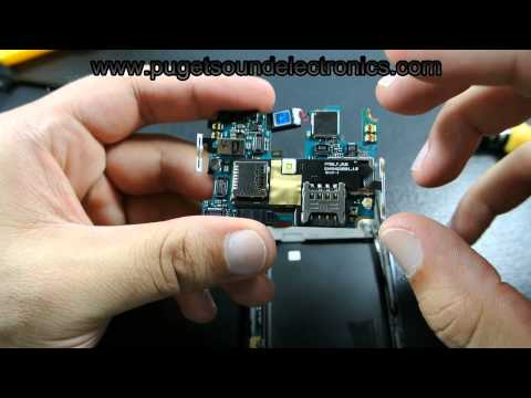 How to disassemble/ take apart the T-Mobile LG Optimus L9 P769