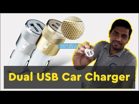 Smart Smith Dual USB Car Charger Unboxing & Review
