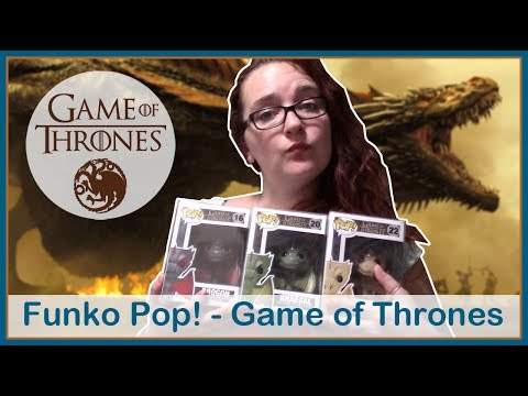 [Collection] Funko Pop! - Game of Thrones 🐲 Avec un D comme Dragons !