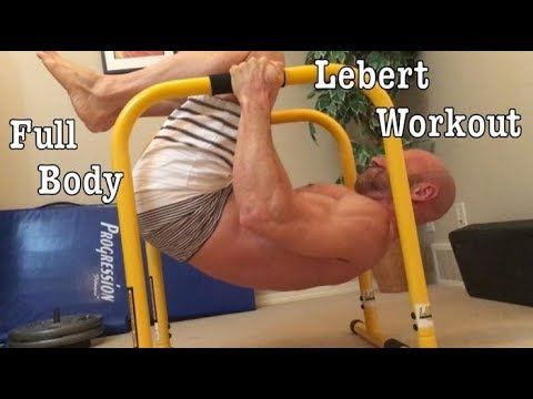 Full Body Lebert Equalizer Bar Home Workout! Tuck Lever Rows, Tuck Planche Push ups, Pike Push ups
