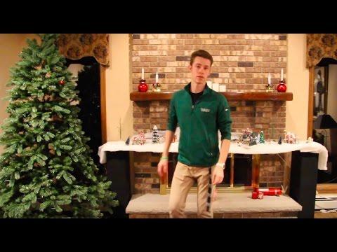 Building a Christmas village