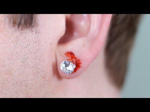 PAINFUL EAR PIERCING!