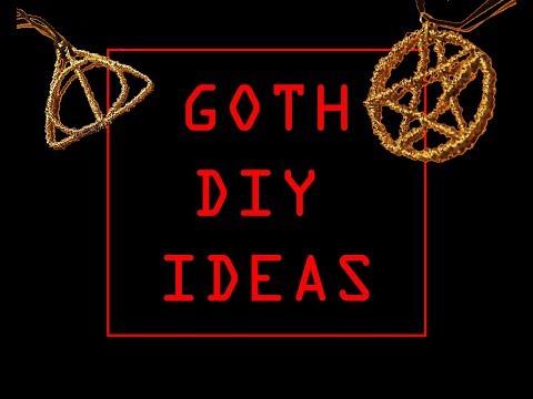 GOTH DIY IDEAS / Wire symbol pendant